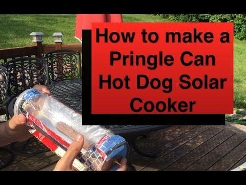 How to make a Solar Cooker out of a Pringles Can: Fun Summer Craft (Sunday Summer Crafts) (#1)
