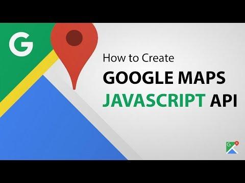 How to Create Google Maps JavaScript API Key - (Step by Step)