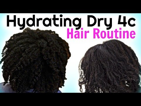 How To MOISTURIZE DRY Natural HAIR To Maximum Hydration