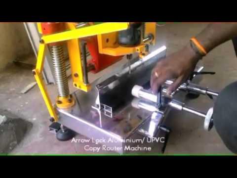 Arrow Lock - Aluminium / UPVC Copy Router India with 5 years of warranty