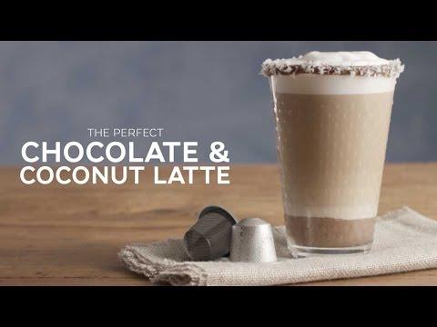 Decadent Choc-Coconut Latte