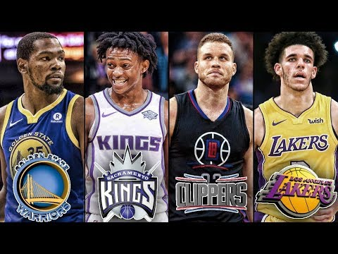 What if Every NBA Team in California COMBINED into One SUPERTEAM?