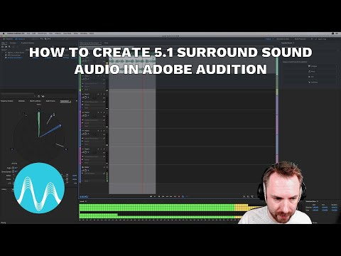 How to Create 5.1 Surround Sound Audio in Adobe Audition
