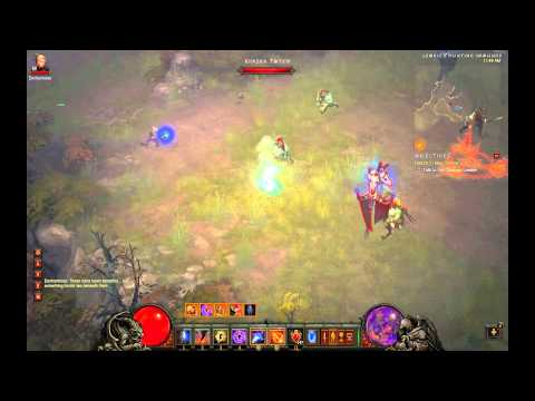 Diablo III - Melee Wizard (Inferno) - Meteor/Star Pact + Energy Twister/Wicked Wind + Arcane Dynamo