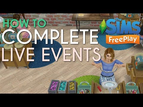 How I Complete Live Events In Time   The Sims Freeplay