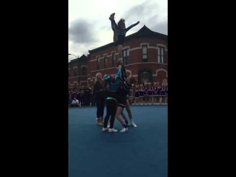 8 yr old advanced cheerleading stunts