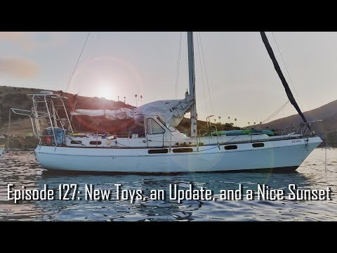 Episode 127: New Toys, an Update, and a Nice Sunset