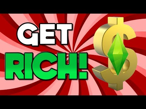 HOW TO GET RICH! ...in The Sims 4! (Without Cheats)
