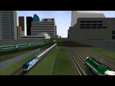 MSTS - Open Rails: Morning Rush at Toronto Union Station