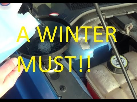 Here's How To Fill The Window Washer Fluid Bottle on a Ford Focus