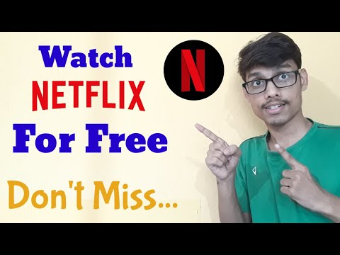 How to register on Netflix and Get your Free  Subscription