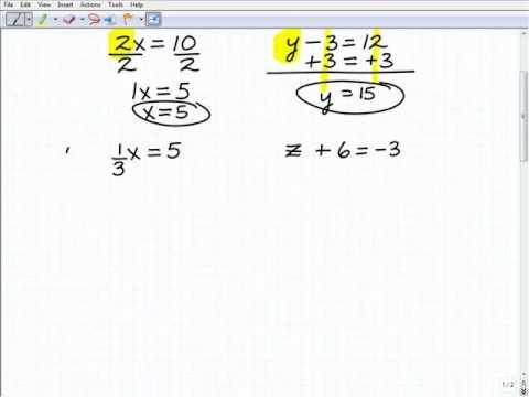 Homeschool 8th grade math