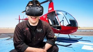 Virtual Reality Helicopter Guiding! - Final Approach Gameplay - Virtual Reality HTC Vive