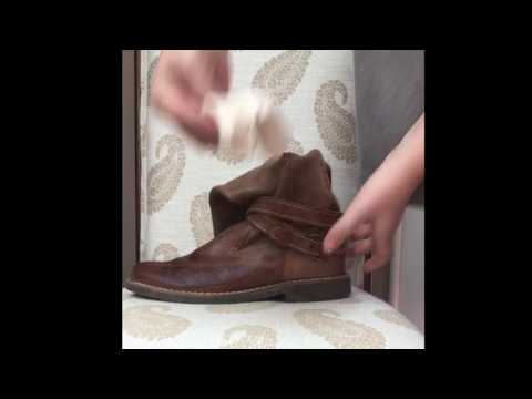 Cleaning Roots Leather