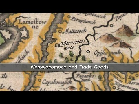 Trading with the Powhatan - Artifacts from Werowocomoco