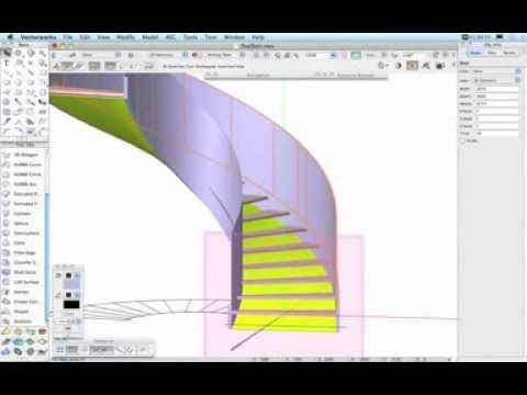 Curved Stair Tutorial