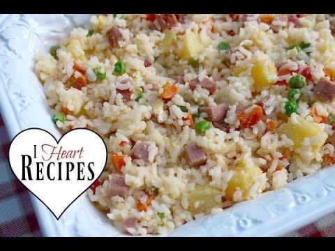 Dollar Tree Gourmet   Hawaiian Style Fried Rice  - Budget Friendly & Frugal - I Heart Recipes