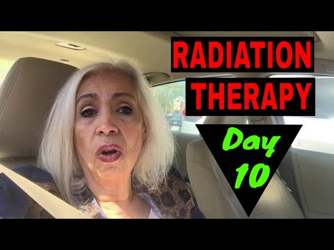 Radiation Therapy - Day 10 -