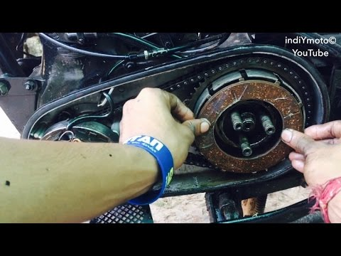 How to change clutch plates of royal enfield old model CI engine