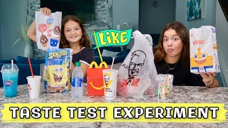 """TRYING DIFFERENT FAST FOOD KIDS MEAL """" TASTE TEST EXPERIMENT """" 