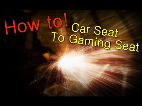 How To Turn A Car Seat Into A PC Gaming Chair At Home!