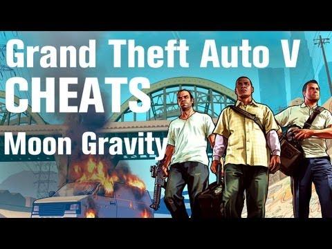 GTA 5 Cheats - Moon Gravity