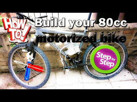How to install an 80cc 2 stroke bicycle engine kit