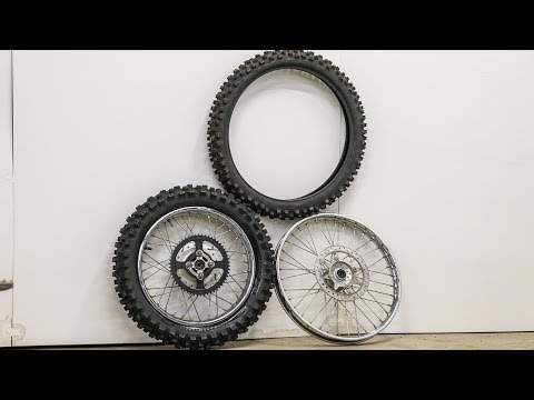 Mounting New Dirt Bike Tires!