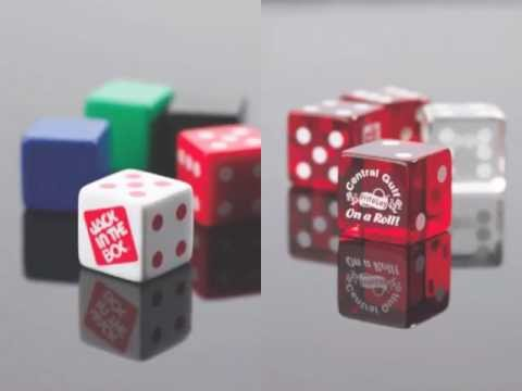 Custom Dice | Custom Imprinted Dice with Your Design on 1-6 Sides