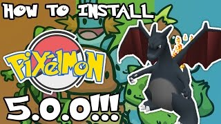 How To Install Pixelmon 500 Easiest And Fastest And Latest Way