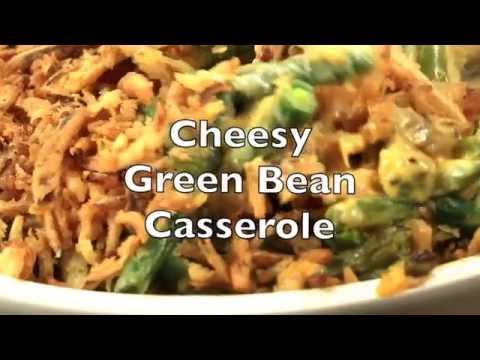 Cheesy Green Bean Casserole