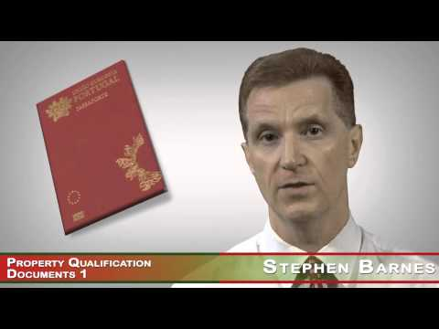 Golden Residence Permit of Portugal - European Passport - Property Qualification Documents 1