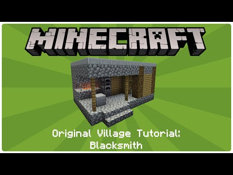 How to build an NPC Village - Blacksmith