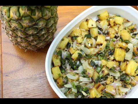 Diva Q's Pineapple Poblano Salsa Recipe