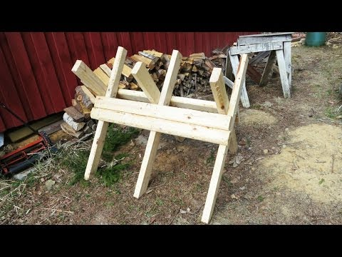 DIY Folding Sawbuck