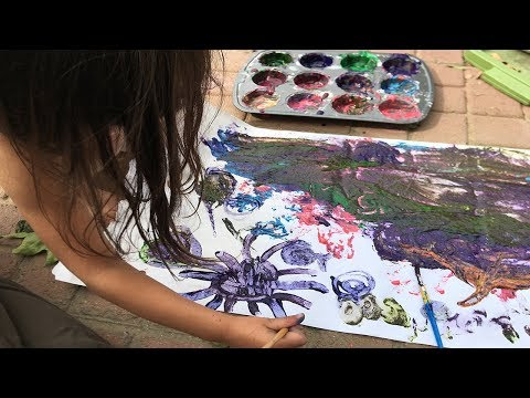 DIY Paint For Kids and Babies. Homemade Paint For Kids