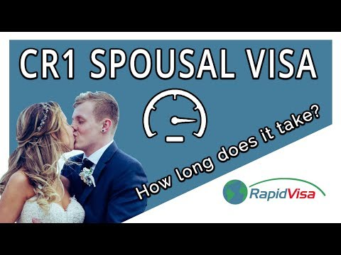 How Long Does the CR-1 Spousal Visa Process Take?