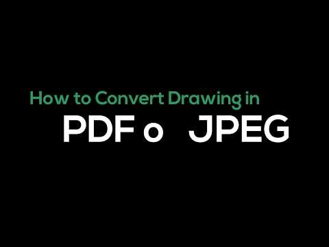 Convert dwg to pdf or jpg in autocad