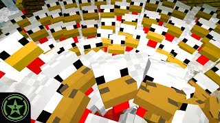 Drowning in Chickens - Minecraft - New Petting Zoo (#318)   Let