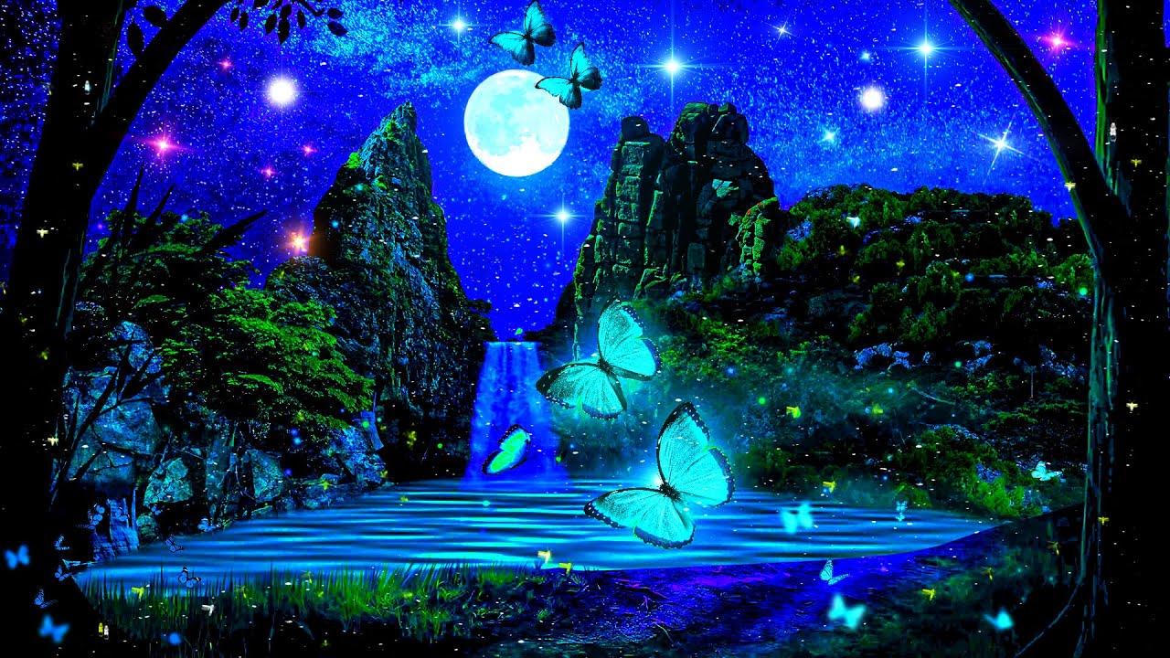 Peaceful Night 💕 Calm Magic SLEEP Music | Delta Waves Deep Sleep Music | Sleeping Meditation 432Hz