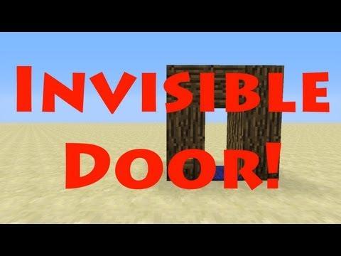 The Invisible Door in Minecraft 1.6.2! (Works in 1.8) [Tutorial]