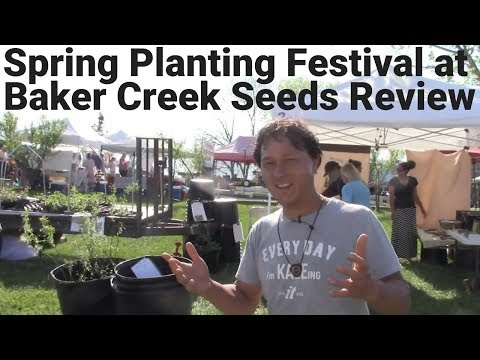 Spring Planting Festival at Baker Creek Heirloom Seeds Tour + Review