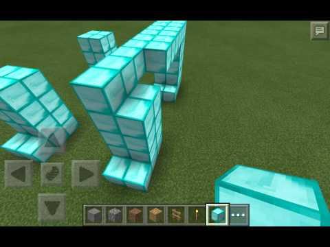 Minecraft pe how to make a dimand moose