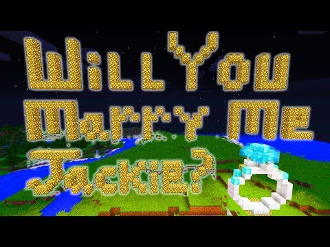 Minecraft | GUY PROPOSES TO GIRLFRIEND | Video Game Proposal