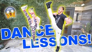 Download TEACHING LOGAN PAUL HOW TO DANCE!!! Video
