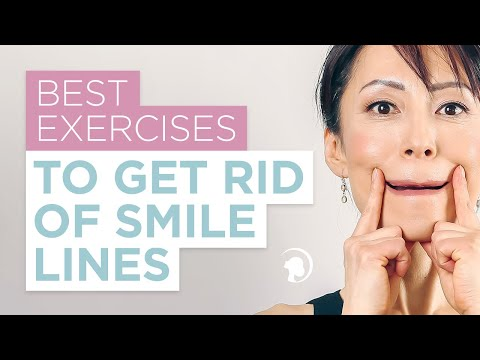 Different Face Exercises for Different Types of Smile Lines