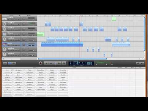 garageband for beginners dubstep techno mix easy simple how to