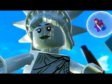 Lego Marvel Super Heroes | CLIMBING LADY LIBERTY! | Lego Marvel Super Heroes Gameplay Part 10
