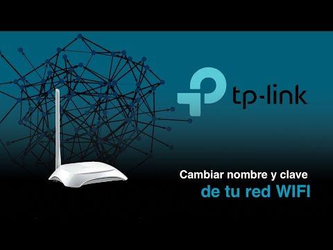 Cómo cambiar nombre y clave de tu red WIFI - TP-Link TL-WR720N