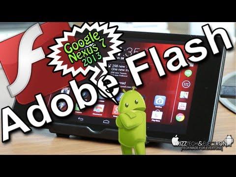 How to Install Adobe Flash Player on Google Nexus 7 | 2013